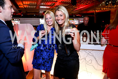 Lauren Heishusen, Kara Nadeau. Photo by Tony Powell. Marriott Marquis Grand Opening. June 10, 2014