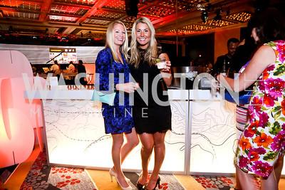 Lauren Heishusen, Kara Nadeau. Photo by Tony Powell. Marriott Marquis Grand Opening. June 10, 2014