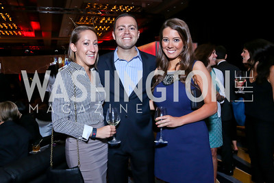 Kristin Luviano, Justin Ross, Leah Nadeau. Photo by Tony Powell. Marriott Marquis Grand Opening. June 10, 2014