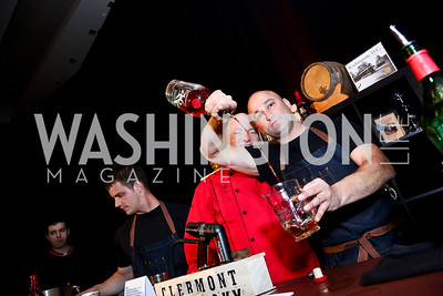 Bobby Gleason, Steve Swetlow. Photo by Tony Powell. Marriott Marquis Grand Opening. June 10, 2014