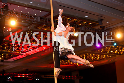 Mathieu Roy, Elsie Morin. Photo by Tony Powell. Marriott Marquis Grand Opening. June 10, 2014