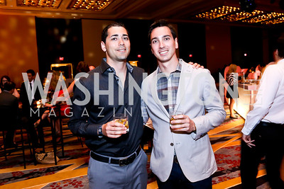 Ryan Cummings, Harry Kline. Photo by Tony Powell. Marriott Marquis Grand Opening. June 10, 2014