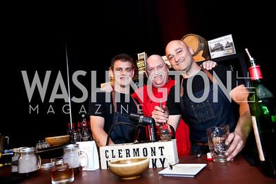Tyler Hartman, Bobby Gleason, Steve Swetlow. Photo by Tony Powell. Marriott Marquis Grand Opening. June 10, 2014