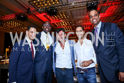 Tony Haywood, Andre Wells, Davide DePas, Hicham Bayali, Ed Hubbard. Photo by Tony Powell. Marriott Marquis Grand Opening. June 10, 2014
