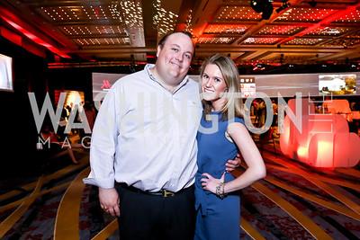 Fritz Brogan, Brooke Henderson. Photo by Tony Powell. Marriott Marquis Grand Opening. June 10, 2014