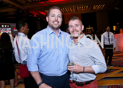 Roger Whyte, Zach Webber. Photo by Tony Powell. Marriott Marquis Grand Opening. June 10, 2014