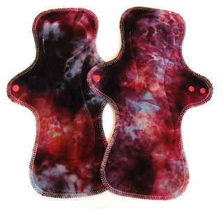 "TWO UltiMini Pads - ""ice dye"""