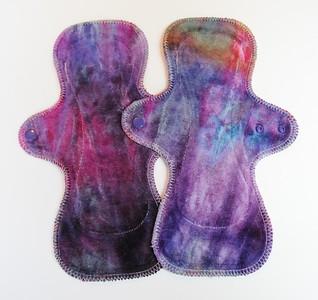 """TWO UltiMini xs Pads - """"ice dye"""""""