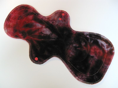 """ONE UltiMax Pad for Heavy Flow & Postpartum - """"ice dye"""""""