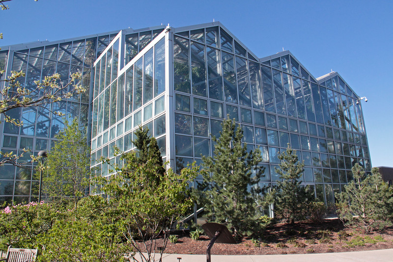 Frederik Meijer Gardens-Conservatory, temperate room.  May 13, 2013, Grand Rapids, MI<br /> <br /> 5 story, more than 15,000 sq. ft area