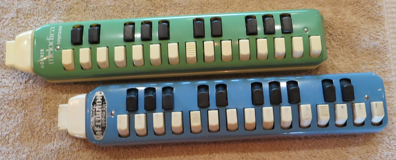 Ranges of Hohner 900 Soprano and 1961 Suzuki Soprano