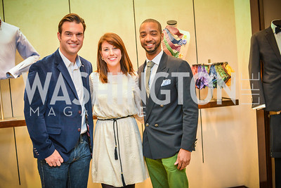 Brian Jarosinski, Heather Shaw Menis, Kevin Gray, Men of Substance and Style, Saks Fifth Avenue, Tysons Galleria, Vincent De Paul,. Saturday March 29, 2014.  Photo by Ben Droz .