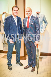 Brian Jarosinski, Sim Khan, Men of Substance and Style, Saks Fifth Avenue, Tysons Galleria, Vincent De Paul,. Saturday March 29, 2014.  Photo by Ben Droz .