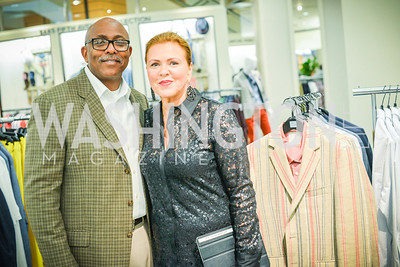 Dennis Holland, Jeni Holland, Men of Substance and Style, Saks Fifth Avenue, Tysons Galleria, Vincent De Paul,. Saturday March 29, 2014.  Photo by Ben Droz .