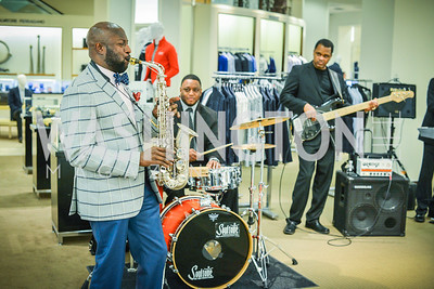 Skip Pruitt Band, Men of Substance and Style, Saks Fifth Avenue, Tysons Galleria, Vincent De Paul,. Saturday March 29, 2014.  Photo by Ben Droz .