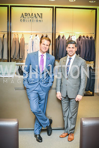 Vincent De Paul, Shahid Malik, Armani, Men of Substance and Style, Saks Fifth Avenue, Tysons Galleria, Vincent De Paul,. Saturday March 29, 2014.  Photo by Ben Droz .