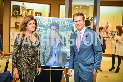 Beth Webster, Vincent De Paul, Men of Substance and Style, Saks Fifth Avenue, Tysons Galleria, Vincent De Paul,. Saturday March 29, 2014.  Photo by Ben Droz .
