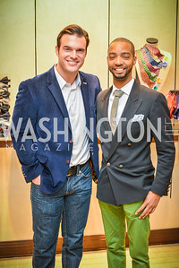 Brian Jarosinski, Kevin Gray, Men of Substance and Style, Saks Fifth Avenue, Tysons Galleria, Vincent De Paul,. Saturday March 29, 2014.  Photo by Ben Droz .
