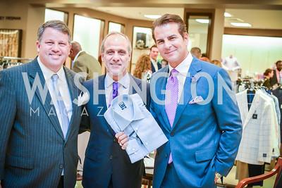 John Arundel, Lawrence Behar, Vincent De Paul, Men of Substance and Style, Saks Fifth Avenue, Tysons Galleria, Vincent De Paul,. Saturday March 29, 2014.  Photo by Ben Droz .