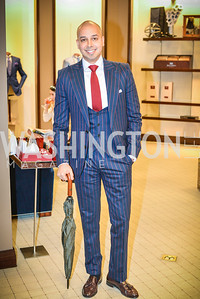 Sim Khan, Men of Substance and Style, Saks Fifth Avenue, Tysons Galleria, Vincent De Paul,. Saturday March 29, 2014.  Photo by Ben Droz .