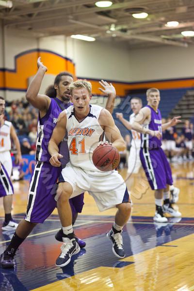 Wheaton College Men's Basketball vs University of Wisconsin-Whitewater (92-66)- Lee Pfund Classic Tournament Championship, November 20, 2010