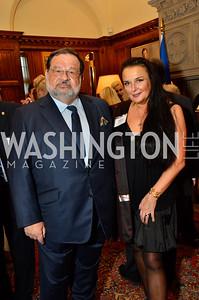 Ambassador Jean-Louis Wolzfeld; Rhoda Septilici