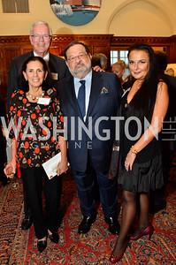 Dan Nelson; Diane Nelson; Ambassador Jean-Louis Wolzfeld; Rhoda Septilici