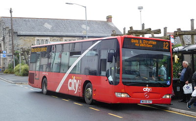 93 - WA56OZT - Launceston (Westgate St)