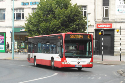92 - WA56OZS - Plymouth (Derry's Cross) - 29.7.13
