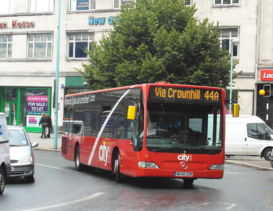 91 - WA56OZR - Plymouth (Derry's Cross) - 29.7.13