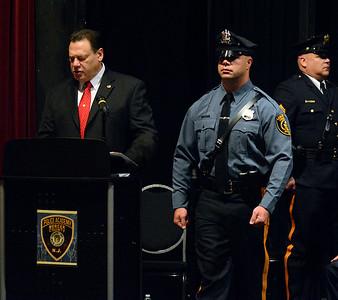 Mercer County Police Academy graduation