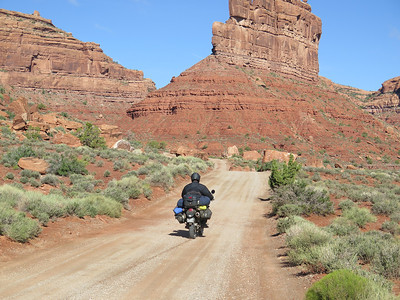 Mexican Hat to Monticello, UT May 26, 2014