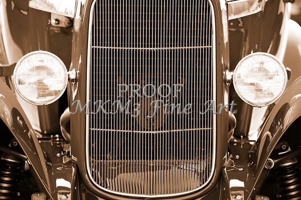 Aged Classic Car