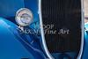 Classic Car Grille Blue