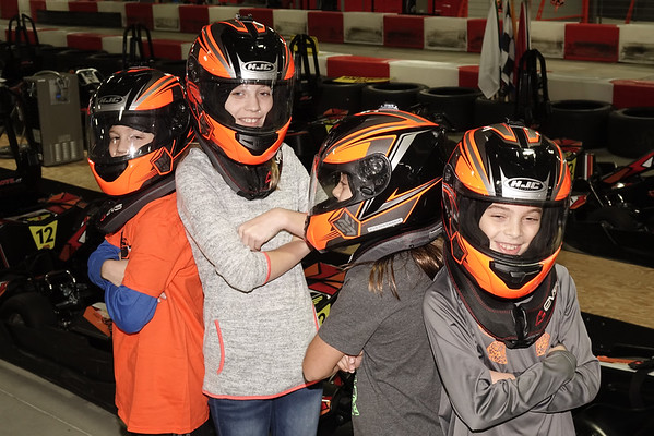 Claire Bday Karting 11-19-2016