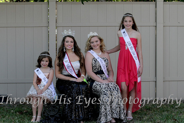 Miss Cibolo Court 2014