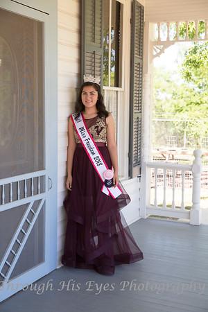 Miss Cibolo Court 2018