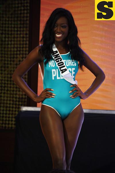 Miss Universe Angola 2016 Luísa Baptista