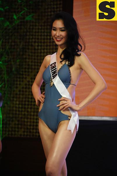 Miss Universe China 2016 Li Zhenying
