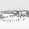 Snowy Shepherd's Hey Farm