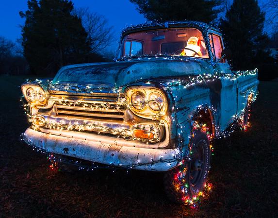 Santa's Chevy