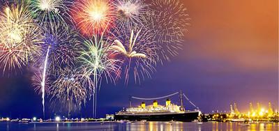 QM 4th Fireworks