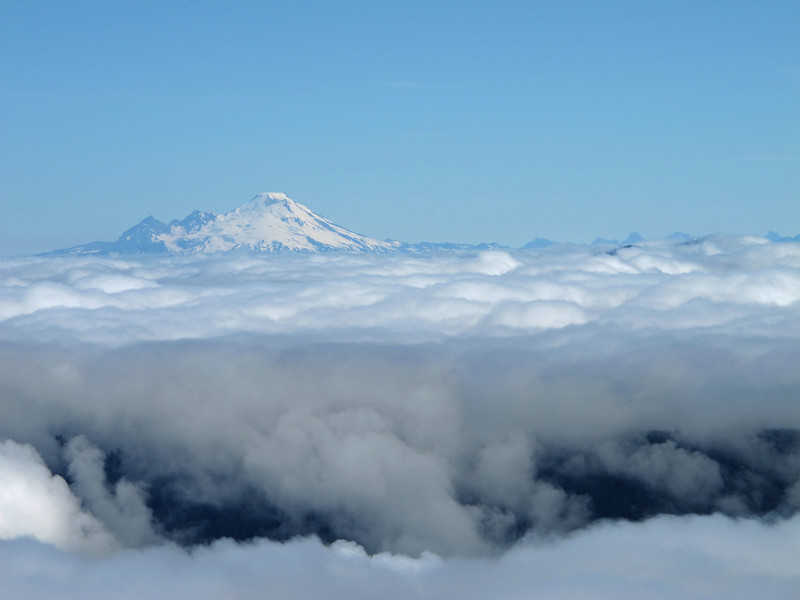 Mount Baker (view north).