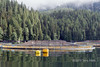 Closed containment tank, Mussel Inlet, mid-coast BC