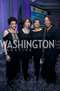 Sweet Honey in the Rock. Photo by Tony Powell. N Street Village 40th anniversary Gala. Ritz Carlton. April 9, 2014
