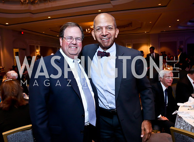 Chris Smith, Tony Williams. Photo by Tony Powell. N Street Village 40th anniversary Gala. Ritz Carlton. April 9, 2014