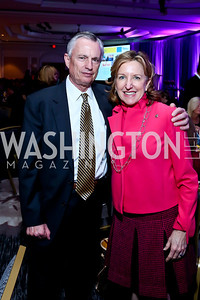 Bill Alsup, Sen. Kay Hagen. Photo by Tony Powell. N Street Village 40th anniversary Gala. Ritz Carlton. April 9, 2014