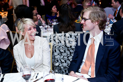 Anissa Masters, Peter Kossakowski. Photo by Tony Powell. N Street Village 40th anniversary Gala. Ritz Carlton. April 9, 2014