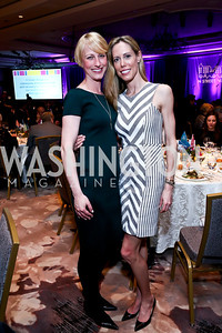 Heidi Junk, Allison Putala. Photo by Tony Powell. N Street Village 40th anniversary Gala. Ritz Carlton. April 9, 2014
