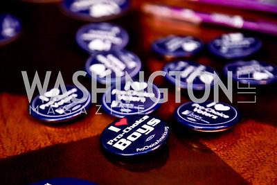 Photo by Tony Powell. DC Men for Choice happy hour. Capitale. September 30, 2014